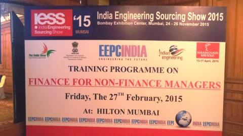 Training Programme on Finance for Non Finance Managers