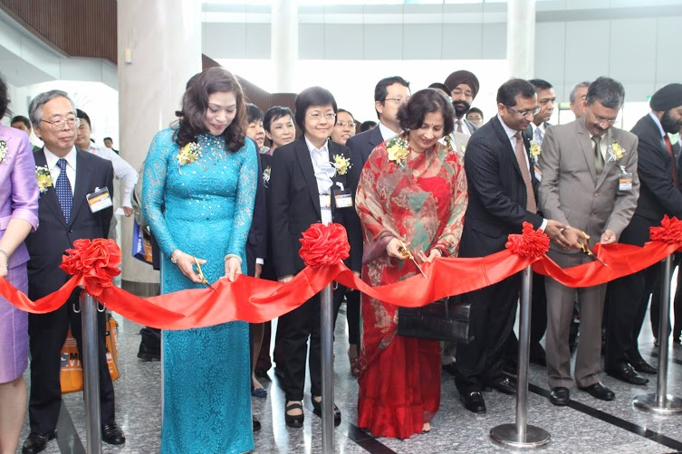 Ribbon cutting of INDEE Vietnam