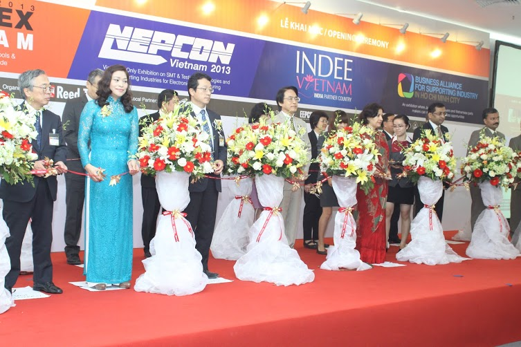 Ribbon cutting of Metalex Vietnam
