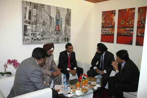 Team EEPC India in conversation with HE Ambassador of India