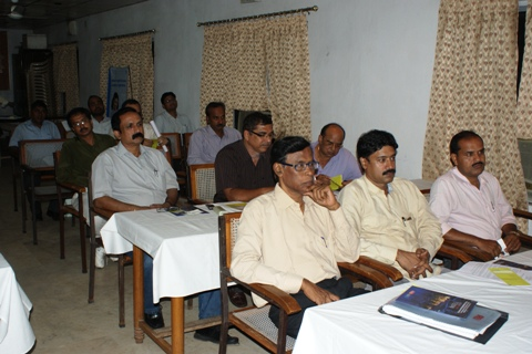 Participants at the event