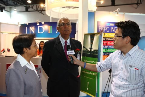 Interview of HE Mr P R Chakravarty, Ambassador of India in Thailand in progress