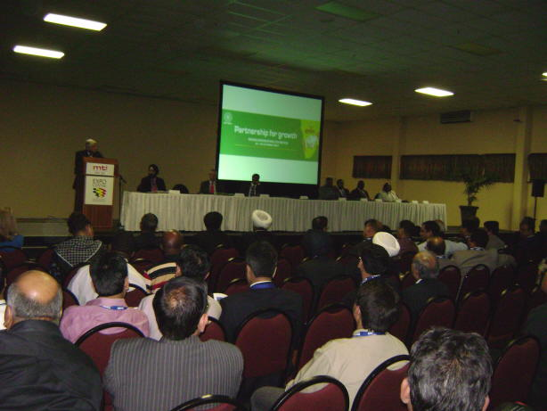 Indo-SADC Partnership Summit during the INDEE 2007