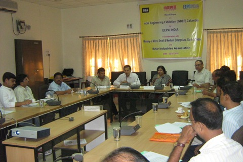 Mr. D K Singh addressing the participants