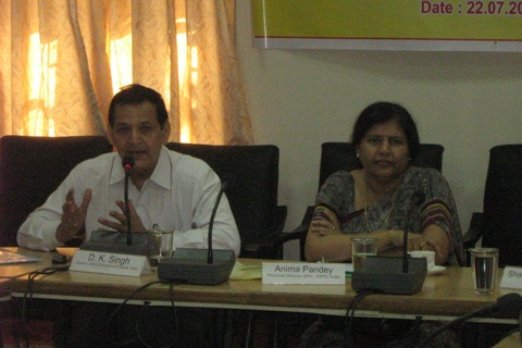 Mrs. Anima Pandey, Regional director, EEPC India, ER with Mr. D K Singh, Director, MSME Development Institute, Patna