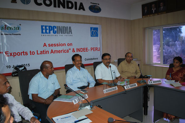 Shri K.R.Pandian,Working Commitee member,EEPC,Addressing the Participants