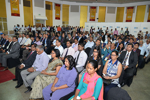SECTION OF AUDIENCE AT THE INAUGURAL FUNCTION