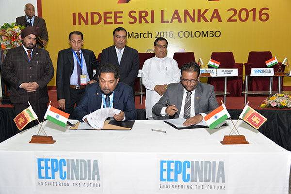 MOU BEING SIGNED BETWEEN EEPC INDIA AND FEDERATION OF CHAMBER OF COMMERCE AND INDUSTRY