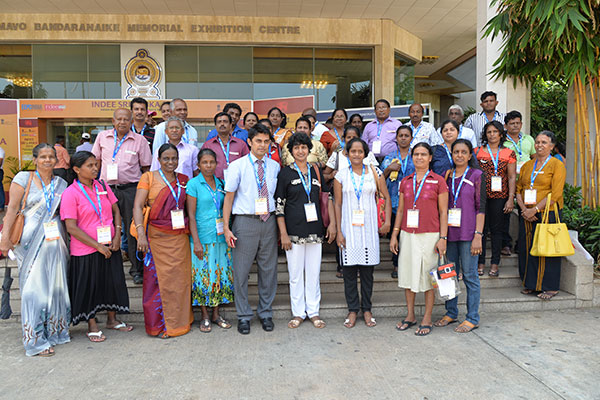 GROUP OF DELEGATES INVITED FROM THE ANURADHA DISTRICT CHAMBER OF COMMERCE INDUSTRY & AGRICULTURE
