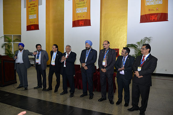 L TO R: Mr Tarvinder Singh Bhasin, Chairman, EEPC India, Mr Bhaskar Sarkar, ED & Secretary, EEPC India, Mr P R Venkatachalam, Chairman of the Territorial Committee on SAARC, EEPC India, Mr  R Seshagiri, Deputy Regional Chairman , EEPC India (SR), Mr Gurvinder Singh, Sr Jt Director, EEPC India, Mr D J Moulick, Assistant Director, EEPC India (ER), Mr Mukesh Gulab Samtani , Executive Officer, EEPC India (WR) and Mr C Nadiger , Regional Director, EEPC India (SR) - The organising Team