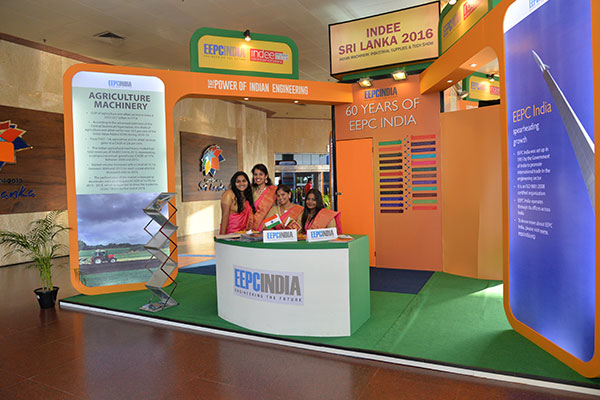 EEPC India's Theme Pavilion at INDEE Sri Lanka 2016