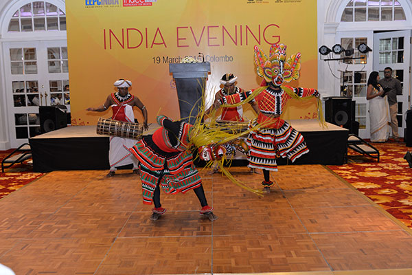 Cultural Dance Performance at the India Evening