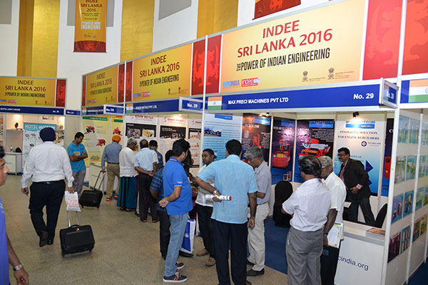 Exhibitors at INDEE Sri Lanka 2016