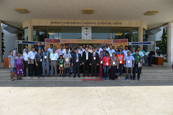 Visitors with EEPC India`s officials