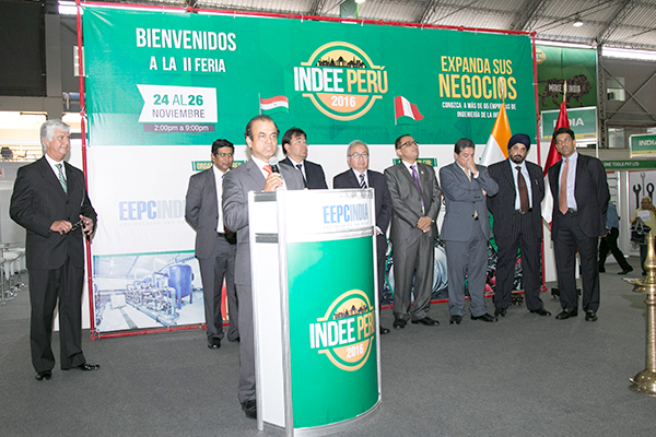 Mr Rohit Rao, President, INCHAM, Peru speaking