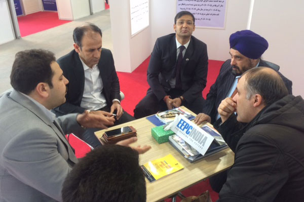 Chairman, EEPC India interacting with Iranian Businessmen