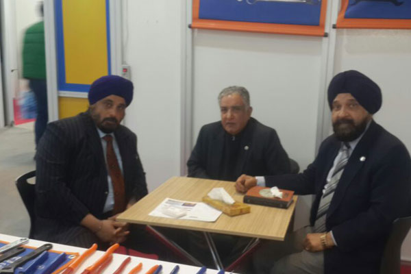 Chairman, EEPC India with Mr Aswani Kumar WC Member and Convenor-Hand Tools,EEPC India ( in the middle)