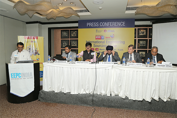Dignitaries at the Press Conference