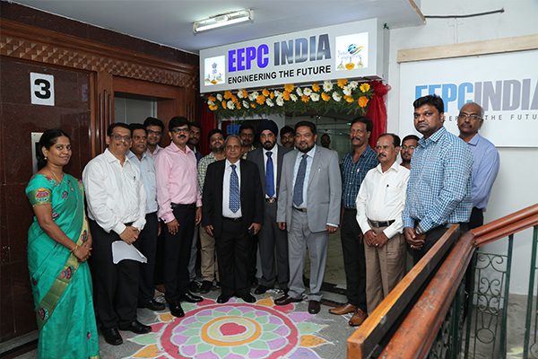 EEPC India (SR) Team with the Chief Guest