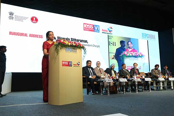 Inaugural Address by Ms. Nirmala Sitharaman, Minister of State (Independent Charge) for Commerce & Industry, Govt. of India during the inauguration of International Engineering Sourcing Show (IESS) VI