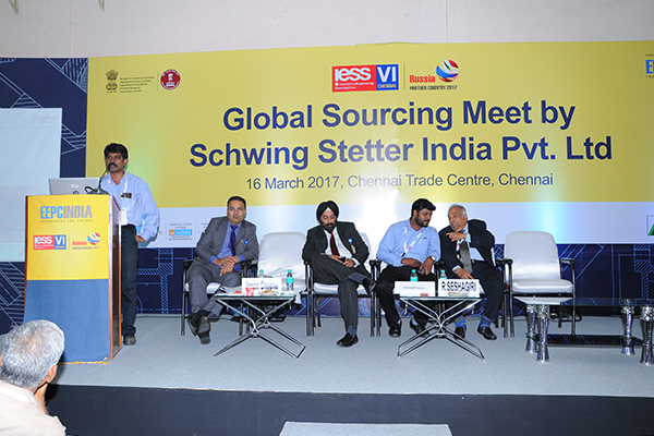 Conference on Global Sourcing Meet by Schwing Stetter India Pvt. Ltd. on 16th March, 2017 at IESS VI, Chennai