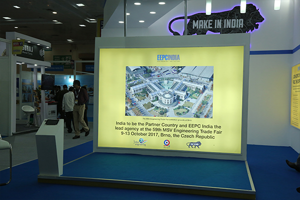 Branding for IESS VI, Chennai (EEPC INDIA PAVILION)