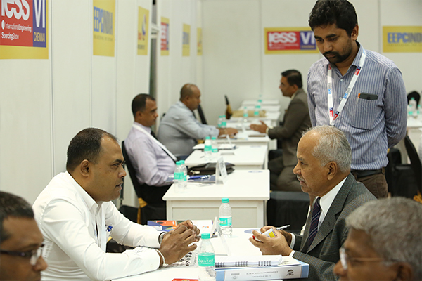 Buyer-Seller Meet  in progress at IESS VI