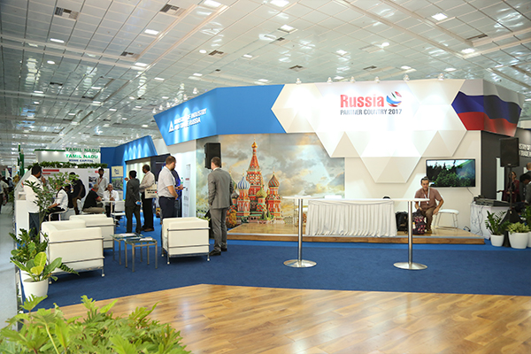 Russian Pavilion at IESS VI