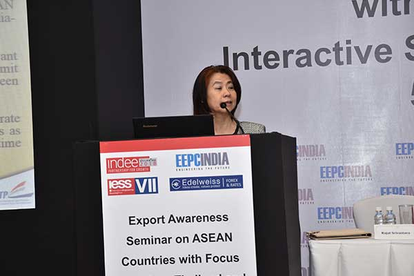 Presentation by Ms. Suwimol Tilokruangchai, Executive Director and Consul (Commercial), Thai Trade Centre, Royal Thai Consulate-Mumbai