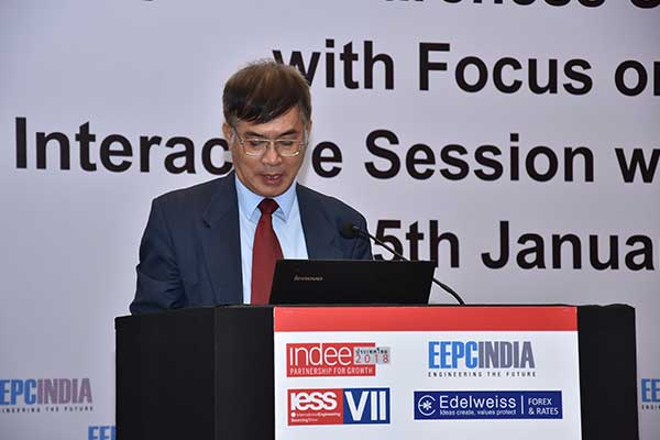 Presentation by Mr. Tran Xuan Thuy, Consulate General of the Socialist Republic of Vietnam in Mumbai