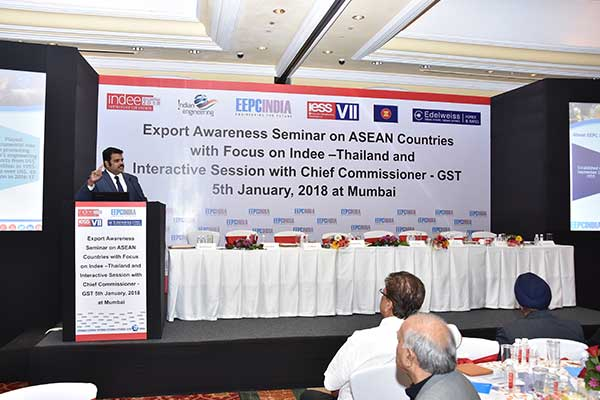 Presentation by Mr. Rajat Srivastava, Regional Director (W.R.), EEPC India on Doing Business with ASEAN countries