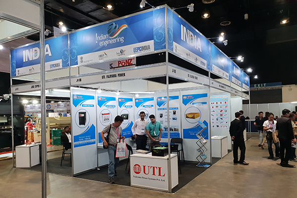 Glimpses of INDEE Philippines - booths of Indian Exhibitors