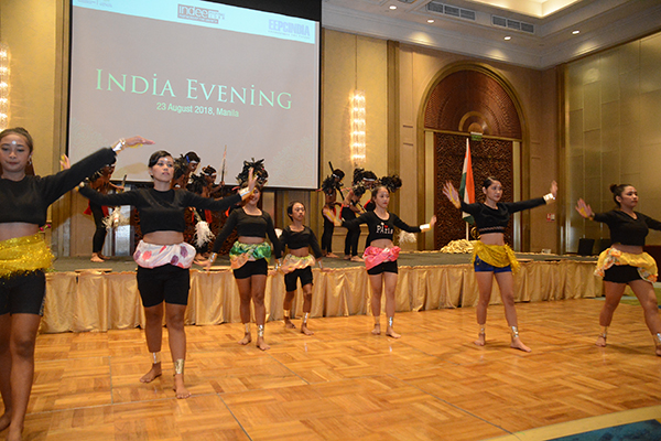 Performance in India evening