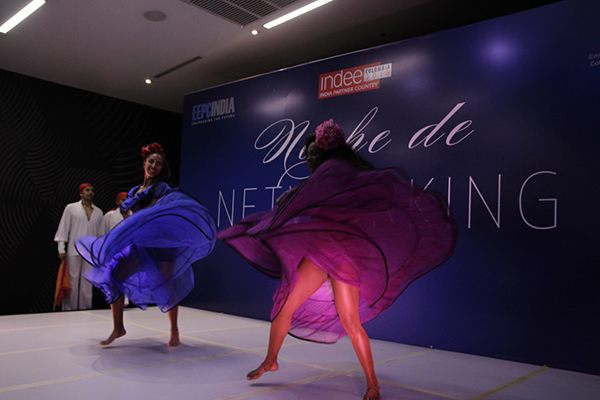 Performance by Colombians