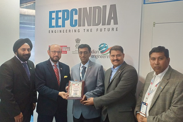 Winner of Best Pavilion Awards - Small Enterprise Category - Electronica Mechatronic Systems