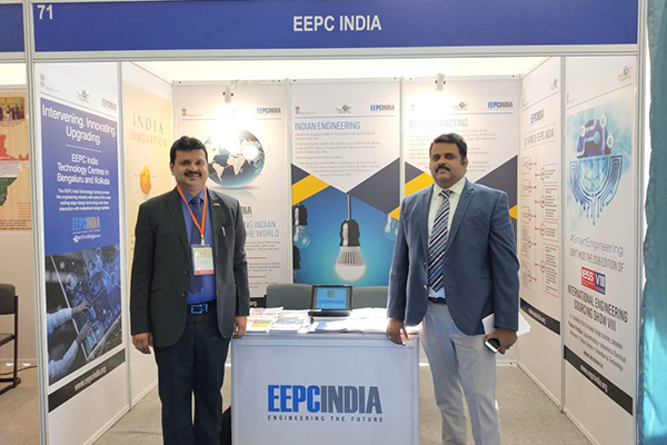 Mr. Rajat Srivastava, Regional Director (WR) & Director (Marketing & Sales), EEPC India with Mr. Rajan Kumar, Advisor - Business Development, Department of Trade and Industry, South Africa