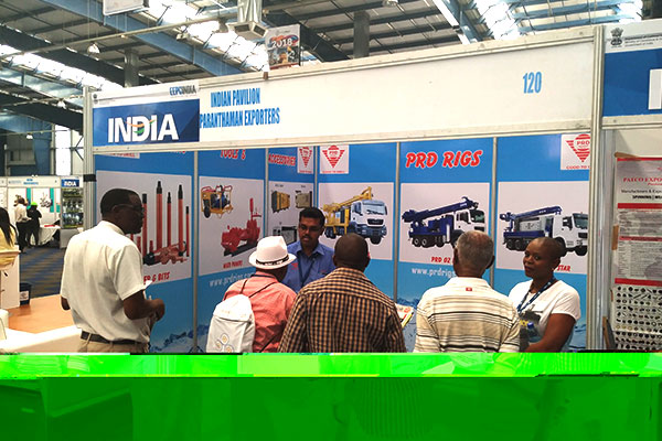 Stall in India Pavilion