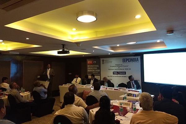 Mr. Jayant Nadiger, Investment & Trade Commissioner, Flanders Investment Trade, Belgium addressing the session