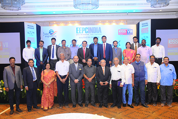 The entire EEPC India team of Regional Office Chennai along with Office Bearers