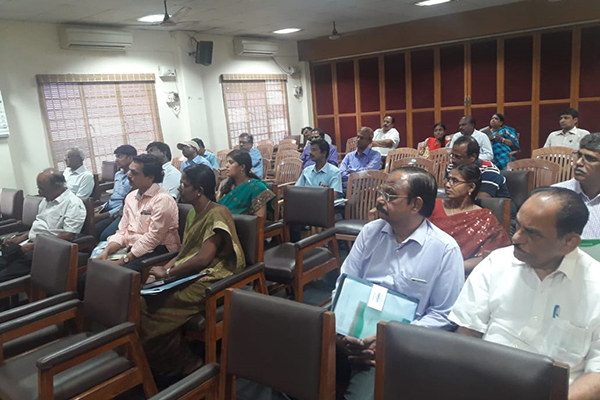 A view of the participants.