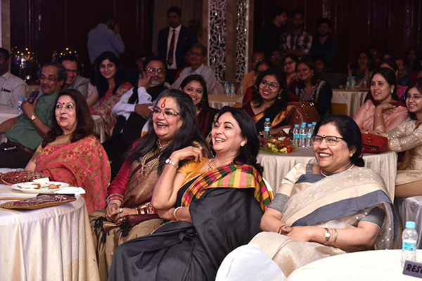 Prominent singer Ms. Usha Uthup and Ms. Rita Bhimani, Founder-CEO, Ritam Communications are seen in the audience along with Ms Anima Pandey, Regional Director (ER) & Director (Membership), EEPC India.  Ms. Usha Uthup and Ms. Rita Bhimani  also won the Women Achievers Award.