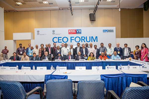 EEPC India`s Annual Show IESS VIII  hosts 30 CEOs of top Indian and Global companies at CEO Forum presided by Dr. A. R. Sihag, Secretary, Dept of DHI, Govt. of India.