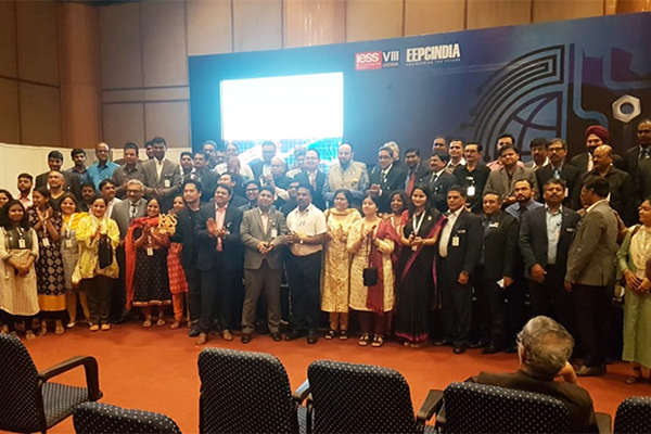 Team EEPC India`s gathering at a photo session on the closing day of IESS VIII.