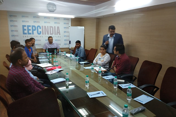 Dr. Rajat Srivastava, Regional Director (WR) & Director (Marketing & Sales), EEPC India is also present in the meeting on Technical Seminar on Process Capability Analysis.