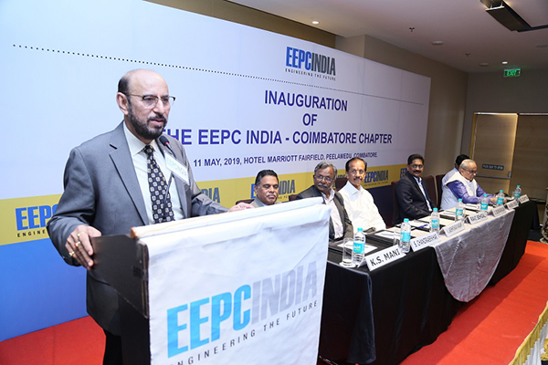 INAUGURATION OF EEPC INDIA COIMBATORE CHAPTER
