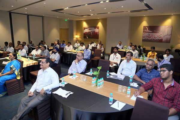 Participants during the session.