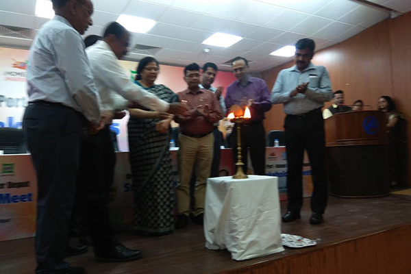 Ms. Anima Pandey, Regional Director (ER) & Director (Membership), EEPC India attends in Lamp Lighting ceremony at the inauguration of the Dry Port, Inland Container Depot - Stakeholders Meet organised by Jharkhand State Government.