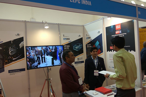 EEPC India (RO), Mumbai participated in World Trade Expo 2019 on November 13, 2019 through a Booth. Mr Mukesh Samtani, Assistant Director & Mr Swapnil Nana Bobhate, Assistant from EEPC India at the booth campaigning for IESS IX and other future events.