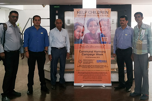 Communal Harmony Week Campaign at the office premises