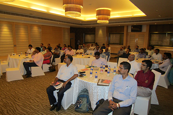 Participants during the session
